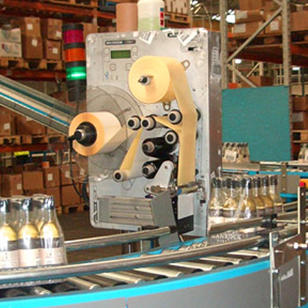 Amber Automation interface conveyors into packaging line at Greencroft Bottling