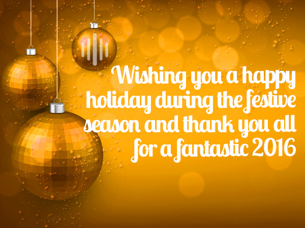 Season's Greetings From Amber Industries