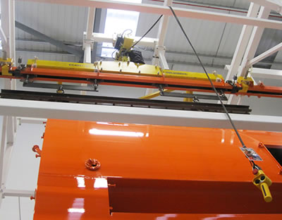 Johnston Sweepers Chooses Amber Conveyors